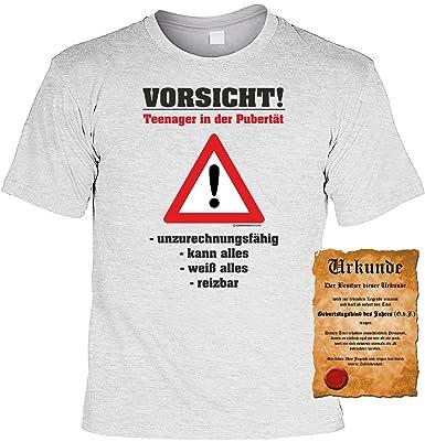 Zum 40 Geburtstag Lustiges Geburtstags T Shirt Vorsicht Teenager