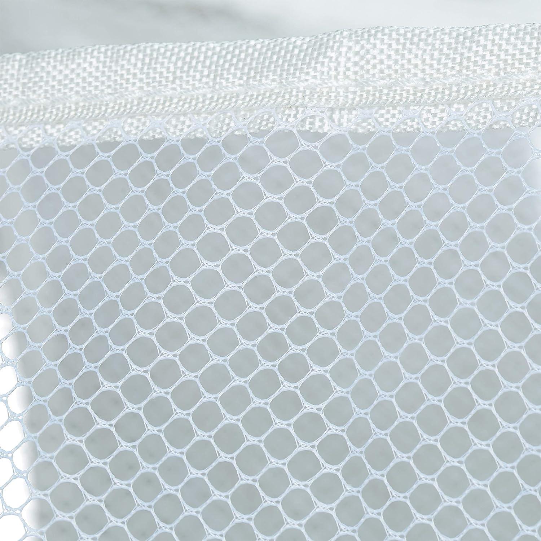 PVC Beige poli/éster 76 x 80 x 46 cm Hierro 1 Ud Relaxdays Separador de la Colada 100L con Ruedas Tres Compartimentos