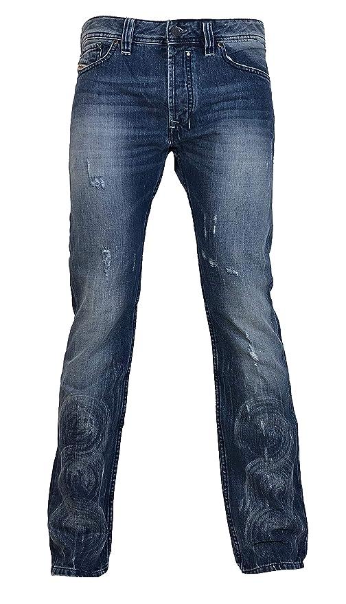 Diesel Safado 74Z Jeans 0074Z - Pantalones Vaqueros de Corte ...
