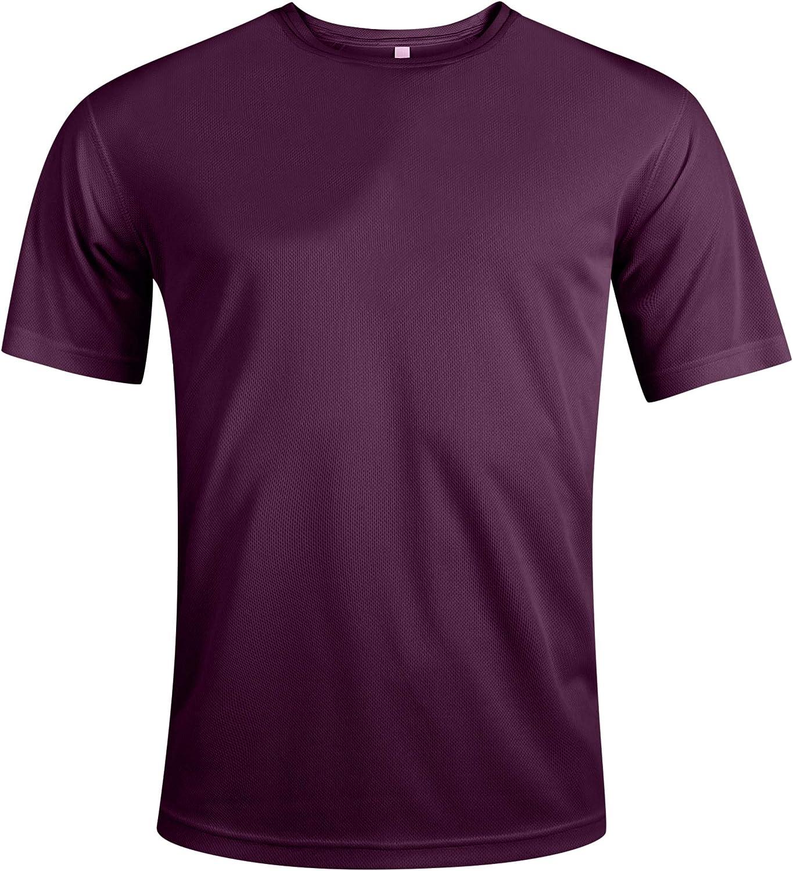 MENs Training TOP T-Shirt Unbranded Premium Running gym Fitness Sports Football