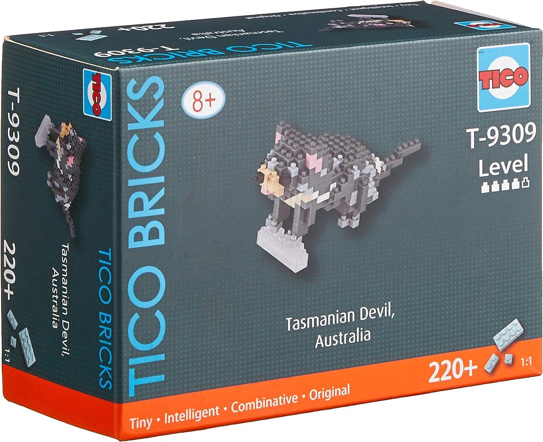 Echidna T9308 Building Block Set TICO Mini Bricks Animal Series