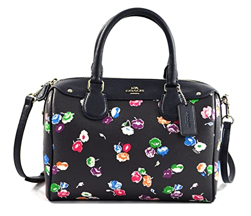 594d066433 New! Coach Mini Satchel with Flower Print (F37491)  Amazon.in  Shoes    Handbags