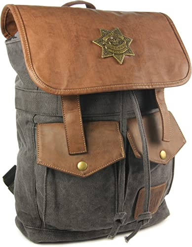 The Coop Walking Dead Rick s Sheriff Backpack-Black