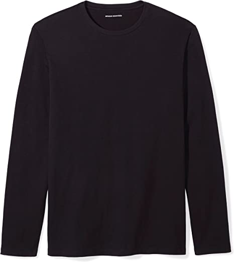 fashion-t-shirts Hombre Essentials Regular-fit Long-sleeve Patterned T-shirt
