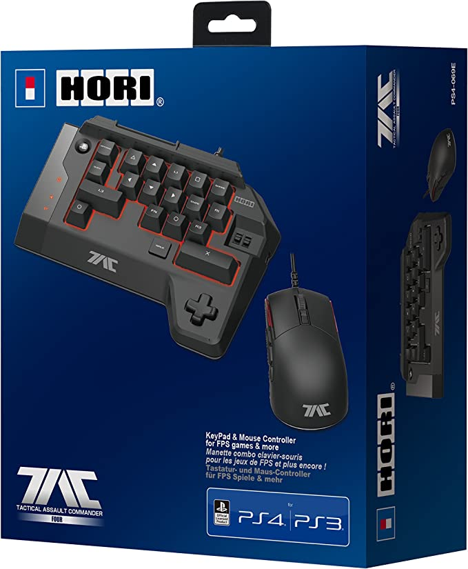 Hori - Tactical Assault Commander Four (PS4/PS3/PC): Amazon.es ...