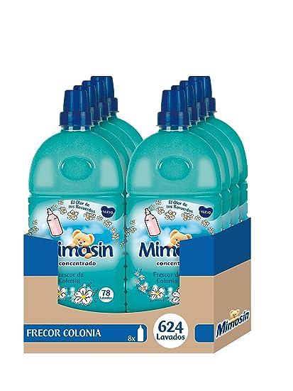 Mimosín Frescor de Colonia Suavizante Concentrado para 78 lavados - 8 Suavizantes