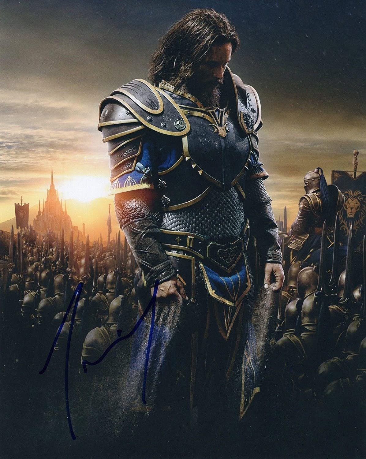 Travis Fimmel Signed 8x10 Photograph W Coa Vikings Star Warcraft 2 At Amazon S Entertainment Collectibles Store