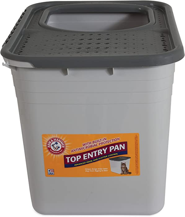Arm & Hammer Top Entry Litter Pan (packaging may vary)