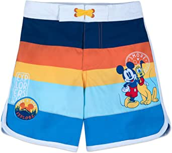 Disney Mickey Mouse and Pluto Swim Trunks for Kids Size 2 Multi