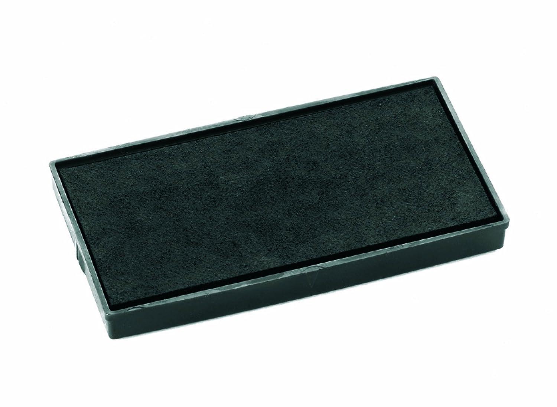 COLOP E/50/1 - Almohadilla de tinta para sellos (tinta negra, 2 unidades) E50BK