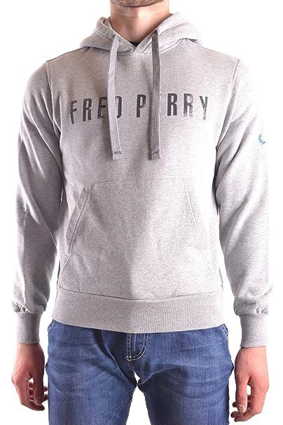 Fred Perry - Sudadera - para Hombre Gris Marke Talla S: Amazon.es: Ropa y accesorios