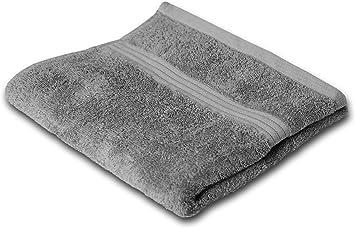 Frotteeserie Linz 2er Set Seiftuch 30x30 cm in 16 Farben und 6 Gr/ö/ßen Lashuma Handtuch Set Farbe: Dunkel Grau
