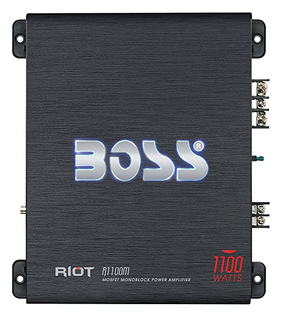 Amazon.com: Amplificador Para Carro Boss Audio 1100 Watts Remote Subwoofer Level Control: Home Audio & Theater