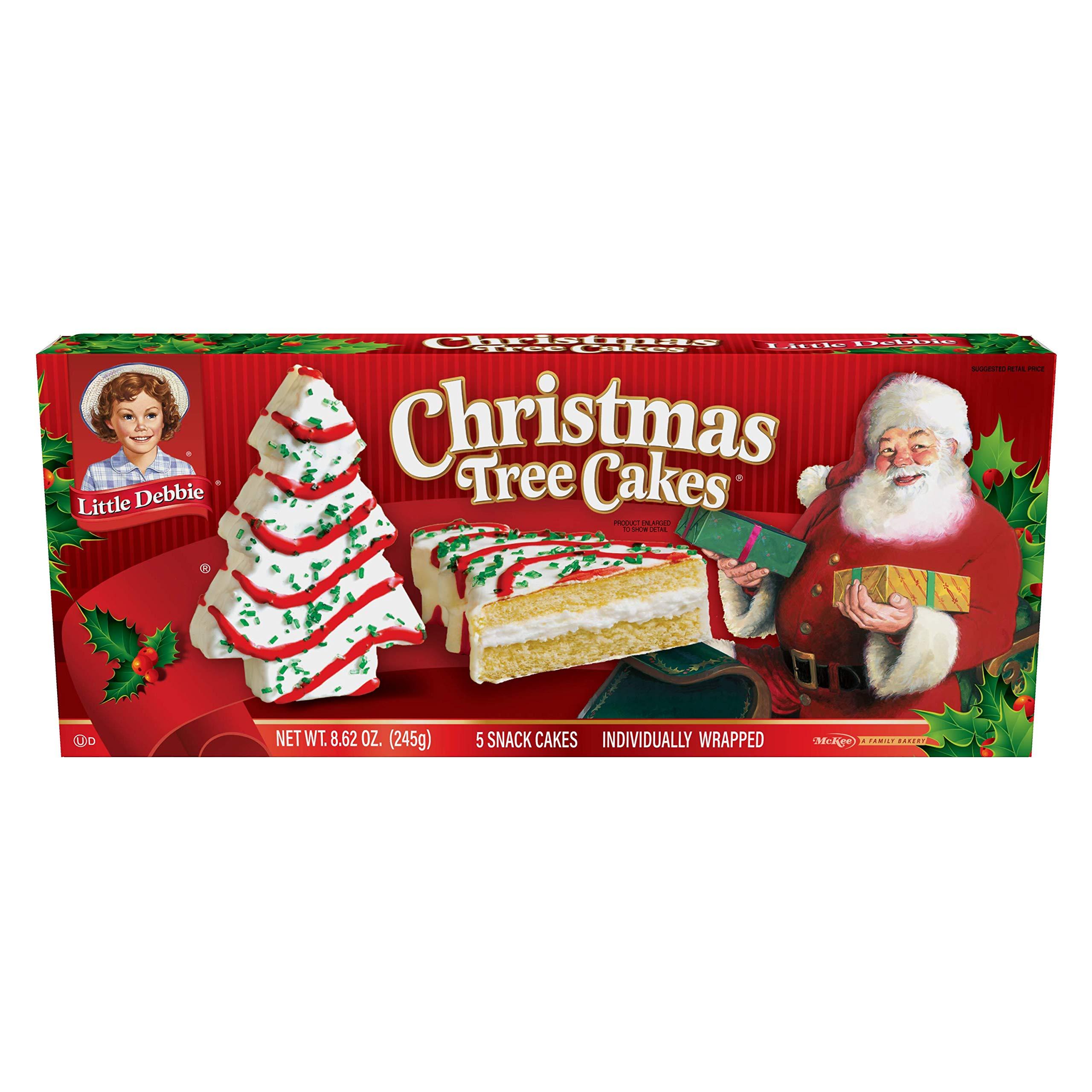 Little Debbie Christmas Tree Cakes (Vanilla)