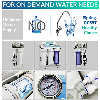Amazon cambodia shopping on amazon ship to cambodia ship overseas ispring rcs5t 500 gpd commercial grade tankless reverse osmosis water filter system w 1 publicscrutiny Image collections