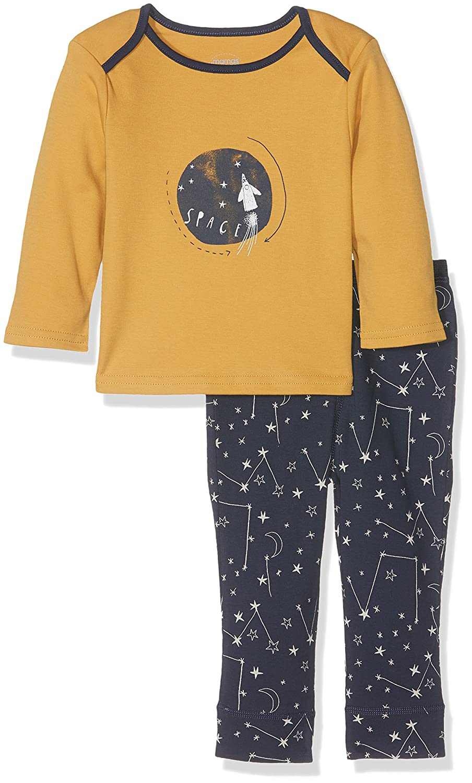 Mamas & Papas Baby Boys' Space to The Moon Pjs Pyjama Sets Blue (Navy) 9-12 Months Mamas and Papas S105AH2B8
