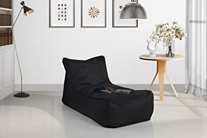 Delightful Divano Roma Lazy Lounge Waterproof Gaming Bean Bag Chair For Kids (Black)