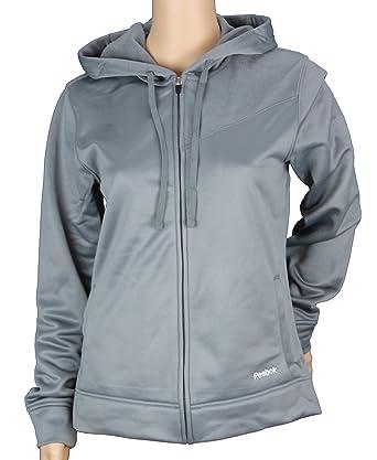 Reebok Womens TECH Fleece Hooded Jacket, Hoodie at Amazon Women's ...