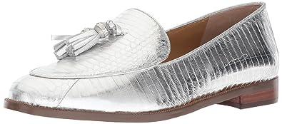 0641c188b14 Lauren Ralph Lauren Women s BRINDY Loafer Silver 5 ...