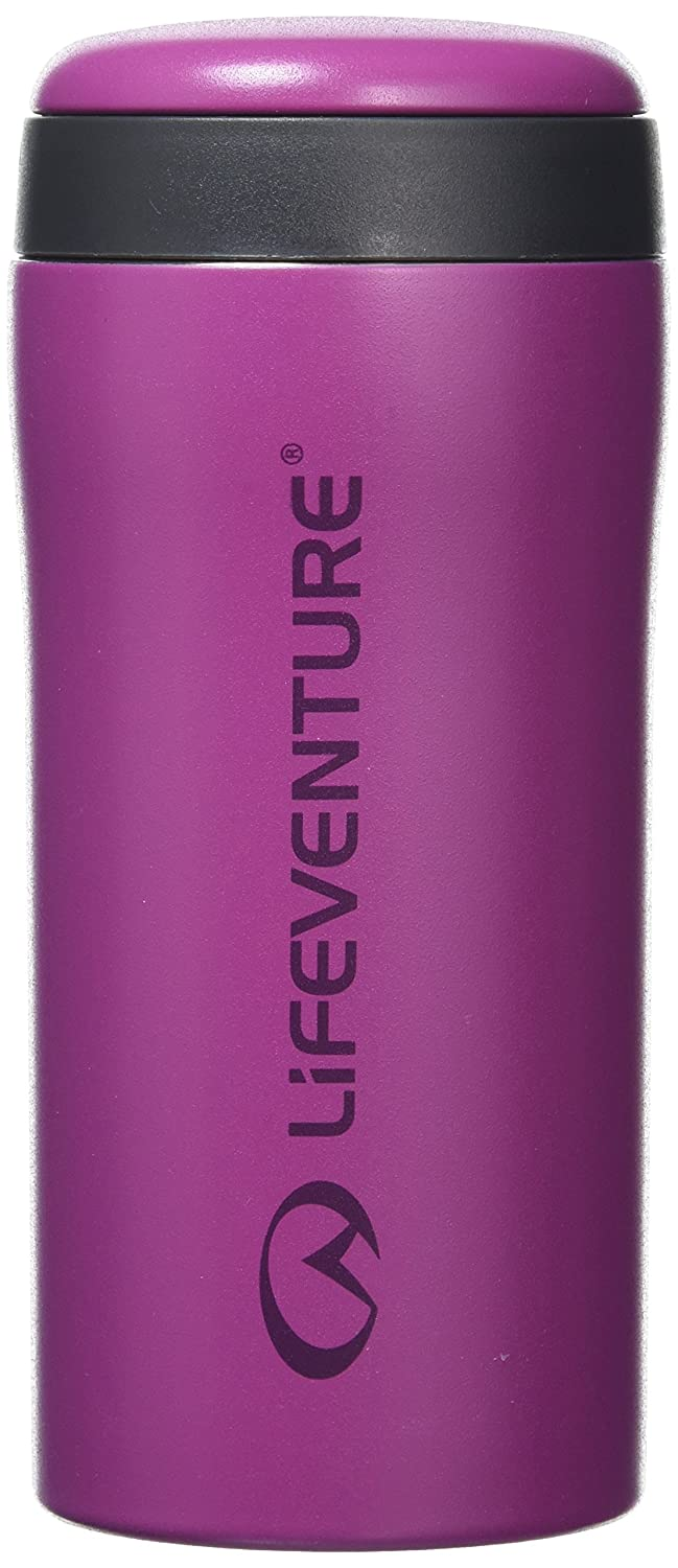 Lifeventure Thermal Mugs Life Venture Thermal Mug Matt Red 300ml Lifemarque Ltd