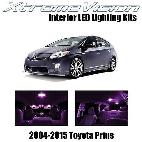 xtremevision Toyota Prius 2004 – 2015 (8 piezas) paquete de interior LED Kit Premium