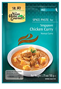 Asian Home Gourmet: Singapore Chicken Curry 1.75 oz (Pack of 12)