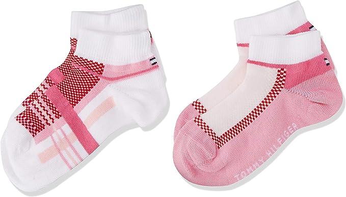 Pack of 2 Tommy Hilfiger Girls Ankle Socks,