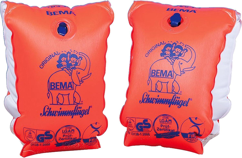 Bema Original Surfer Board mit Griffl/öchern und Halteleine 1 Surfer Board Orange