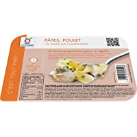 Pâtes, poulet et sauce aux champignons surgelés - 300 g
