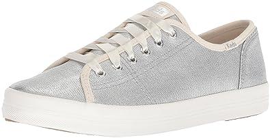 a8c9da1bbe6fe Keds Women s Kickstart Matte Brushed Metallic Sneaker