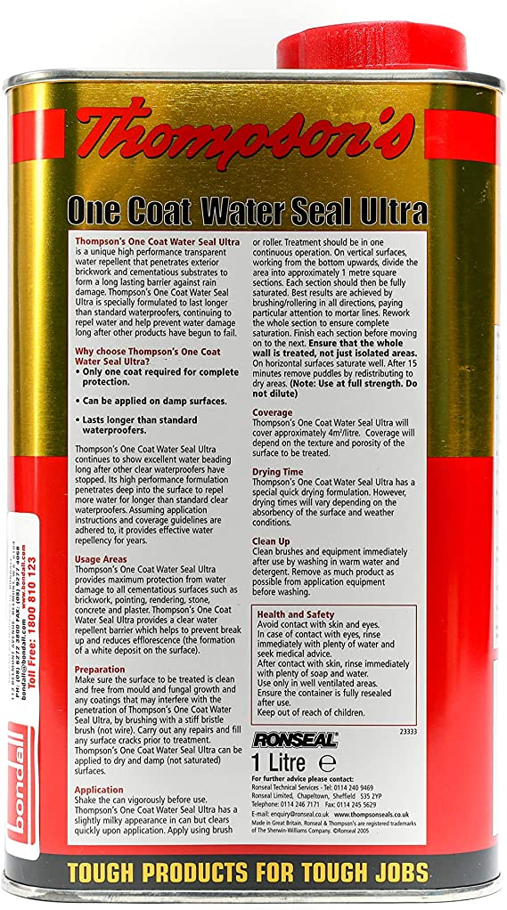 Thompsons One Coat Water Seal 2.5L