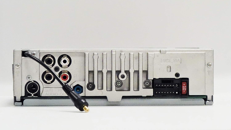 Sony Dsx A510kit Dab Autoradio Mit Antenne Dual Bluetooth Nfc Usb Und Aux Anschluss Blaue Beleuchtung Freisprechen Elektronik