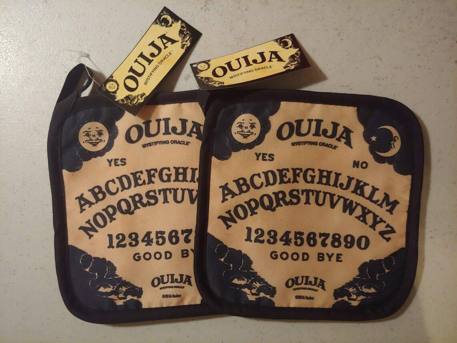 NEW Ouija Board Set of 2 Pot Holders 7'' Halloween Decor Buddstore D1 by BUDDSTORE