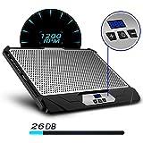 Klim K300Swift supporto Ventilato Velocità regolabile Refrigeratore PC portatile 2ventole