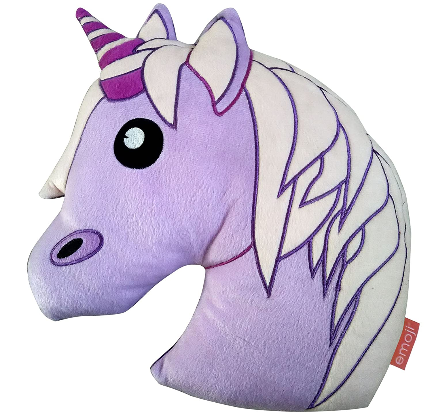 Dr Who Unicorn Emoji cojín, Lila: Amazon.es: Hogar