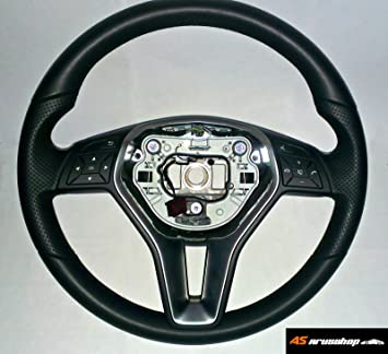 Original Mercedes W204 W207 W212 E C CLS AMG piel Volante a2184602503: Amazon.es: Coche y moto