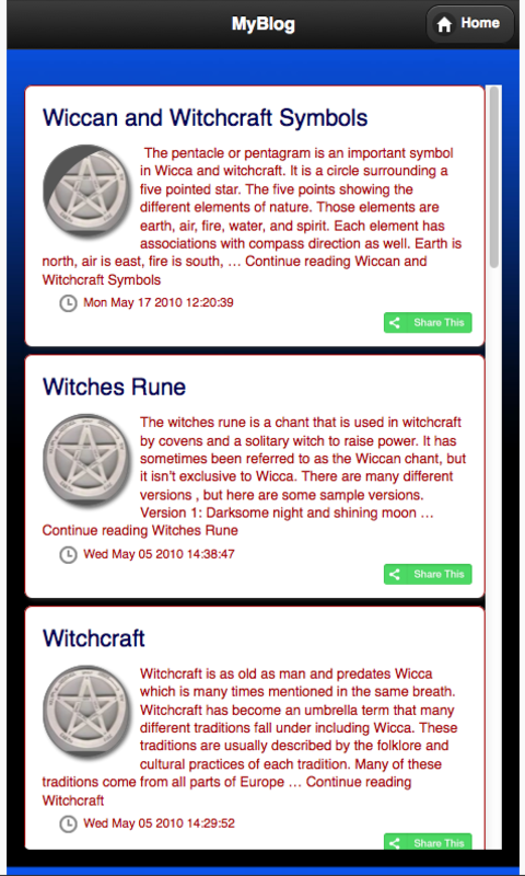 Amazon Wiccan Wicca Witchcraft Appstore For Android