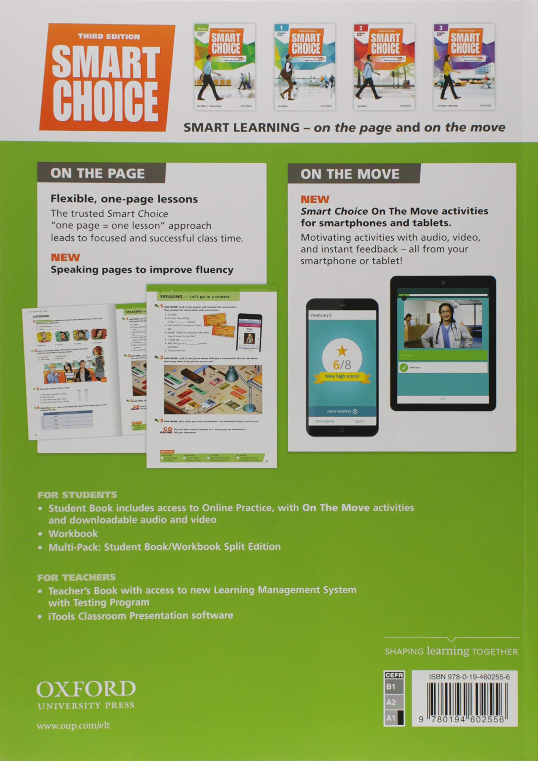 Smart Choice: Starter Level: Multi-Pack B with Online Practice and On The Move: Smart Learning - on the page and on the move: Amazon.es: Wilson, Ken, Healy, Thomas: Libros en idiomas extranjeros