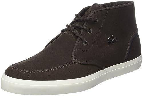 Lacoste Sevrin Mid, Sneaker Uomo, Marrone (Dk BRW), 46 EU