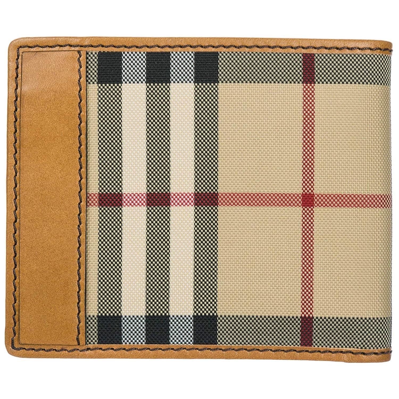 Burberry cartera billetera bifold de hombre en piel nuevo Ms Idbillf marrón: Amazon.es: Ropa y accesorios