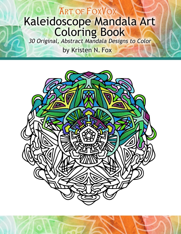 Amazon.com: Kaleidoscope Mandala Art Coloring Book: 30 Original ...