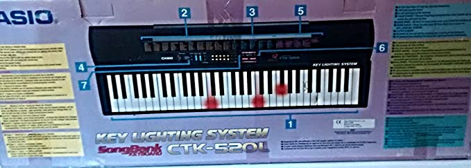 Amazon.com: Casio Ctk - 520 L Electronic Musical Instrument: Musical Instruments