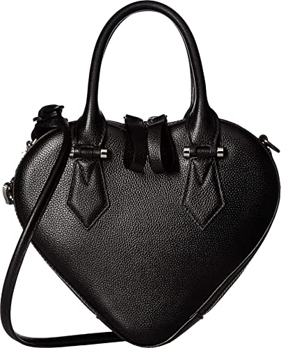 5d725956d61 Amazon.com: Vivienne Westwood Women's Johanna Heart Handbag Black One Size:  Shoes