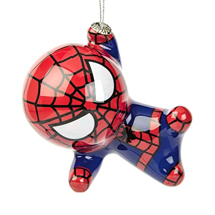 Hallmark Marvel Spider-Man Decoupage Christmas Ornament - Amazon.com: Hallmark Marvel Spider-Man Decoupage Christmas Ornament