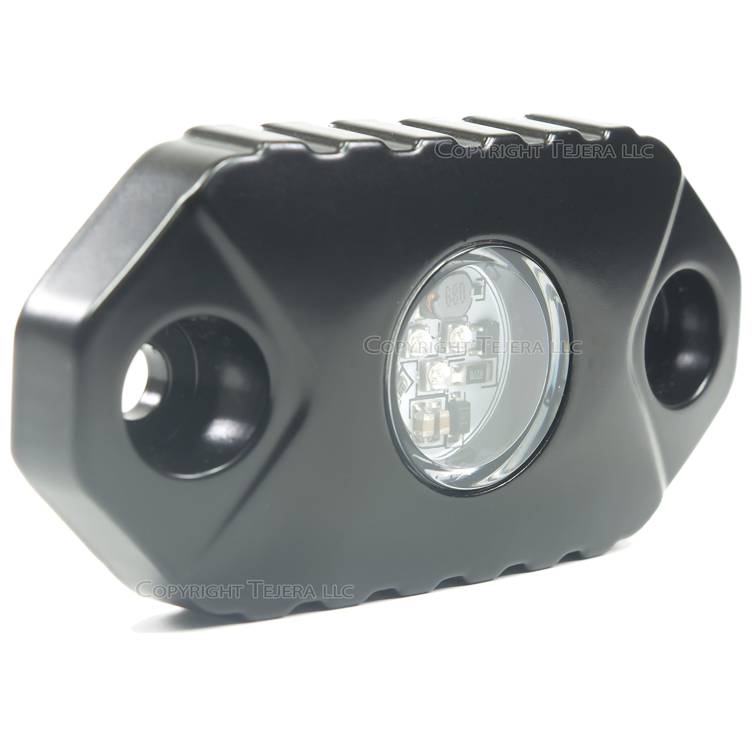 SuiTech SUI-ROCK-WHITE Black LED Rock Light