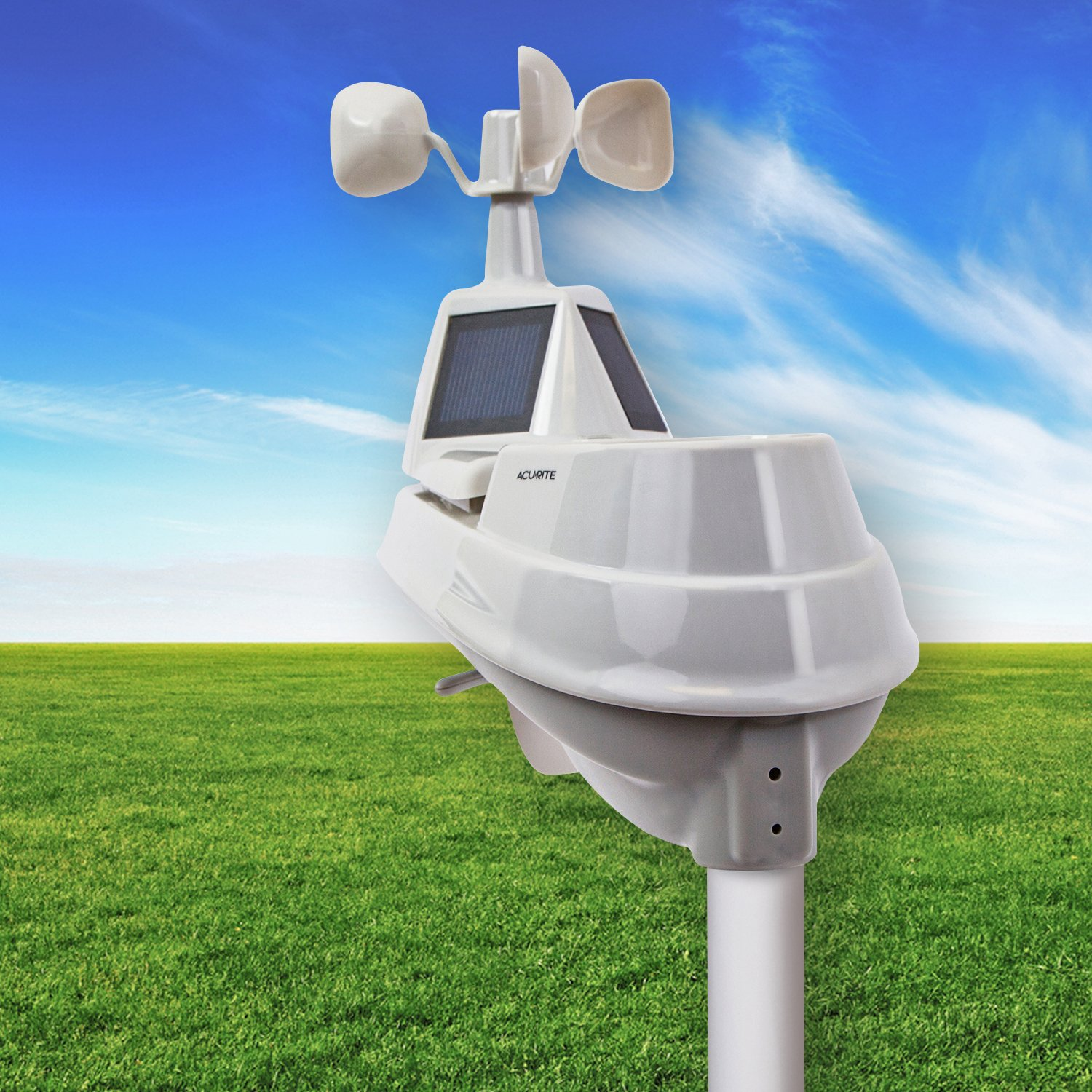 amazon com acurite pro color weather station with 5 in 1 sensor