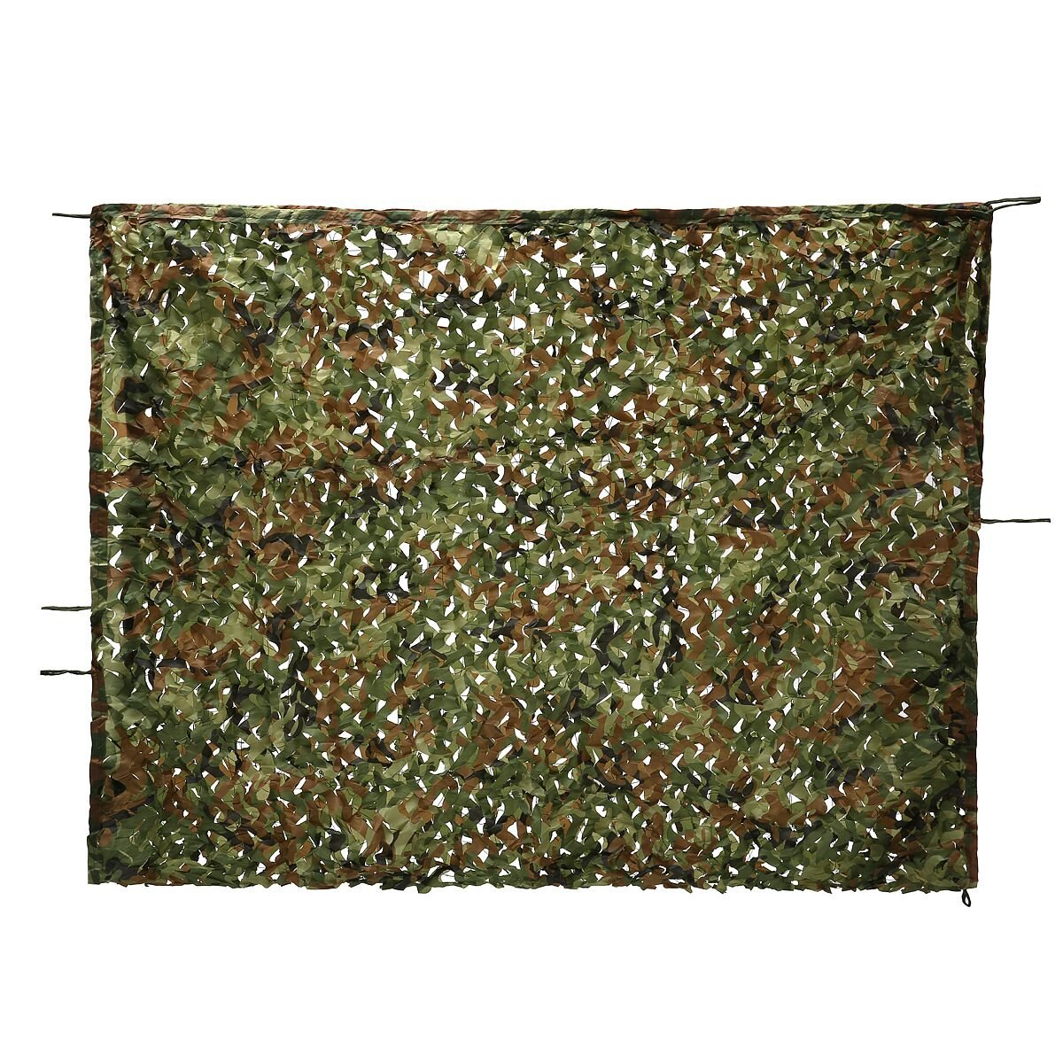 Woodland Camo Net, OUTERDO 6.6ft x 10ft Camouflage Netting Military Desert Camo Netting Camping Hunting Shooting Blind Sunscreen Netting Camouflage Party Decoration on Halloween Christmas by OUTERDO (Image #2)