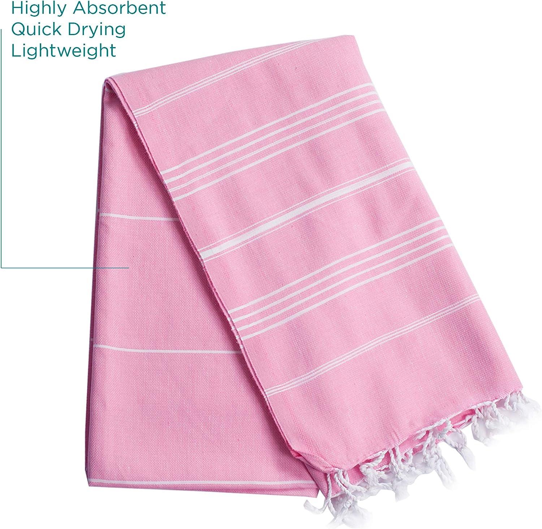 XXL Oversized 170 x 100 cm Hammam Wrap Large Turkish Peshtemal Bath Towel Hammam Towel Ideal for Sauna Soft Thin and Light Light Blue, 2 and Beach Spa Yoga
