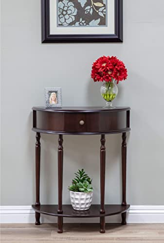 Frenchi Home Furnishing End Table Side Table, Espresso Finish
