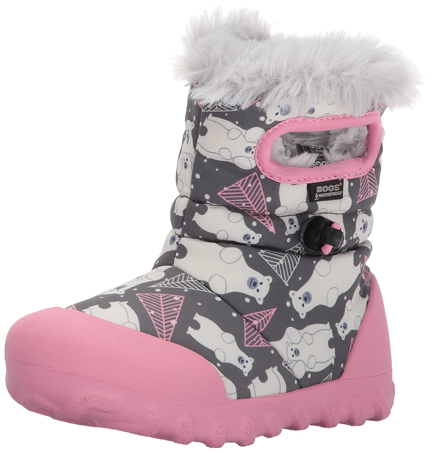 Bogs B-moc Waterproof Insulated Kids/Toddler Winter Boot 72162K-074-13.0